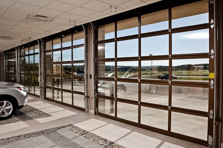 High Quality Commercial Glass Garage Doors S